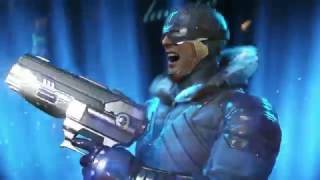 Injustice 2 Captain Cold Super Move Gameplay (2017) PS4/Xbox One