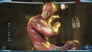 Injustice 2 The Flash Super Move Game Play (2017) PS4/Xbox One
